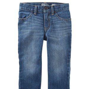 NWT Oshkosh straight leg jeans, 4T